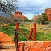 Enter Red Rock Country Art Print