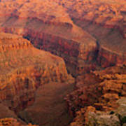 Grand Canyon From Kanab Point Art Print