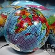 Reflected Globe Art Print
