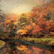 Reflections Of October Art Print