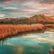 Reginu River And Punta Di Paraso Art Print