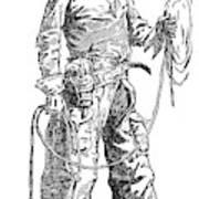 Remington Cowboy, 1887 Art Print
