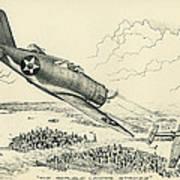 Republic P-43 Lancer Art Print