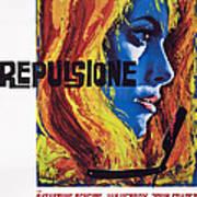 Repulsion, Catherine Deneuve, 1965 Art Print