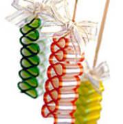 Ribbon Candy Art Print