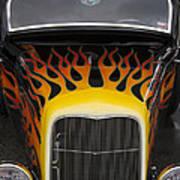 Riding The Flame Art Print
