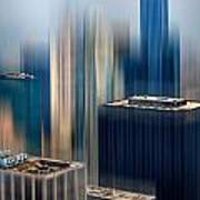 Rising Metropolis Art Print