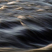 River Flow Art Print by Bob Orsillo