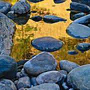 River Of Gold 2 Art Print