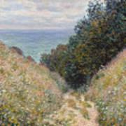 Road At La Cavee Art Print