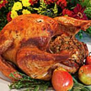 Roast Turkey Art Print