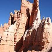 Rockformation Bryce Canyon Art Print