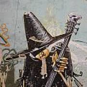Rocking Witch Art Print