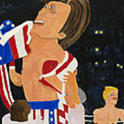 Rocky Balboa Art Print by Don Larison