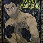 Rocky Marciano Art Print by Eric Cunningham