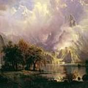 Rocky Mountain Landscape Art Print