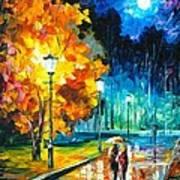 Romantic Night Art Print