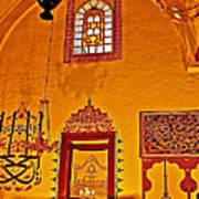 Room For Rumi's Sarcophagus In Konya-turkey  Art Print