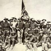 Roosevelt & Rough Riders Art Print