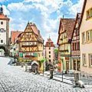 Rothenburg Ob Der Tauber Art Print