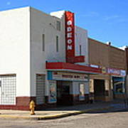 Route 66 - Odeon Theater Art Print