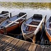 Rowboats Art Print