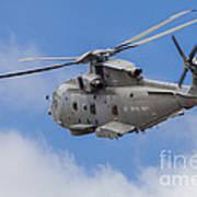 Royal Navy Eh-101 Merlin In Flight Art Print