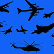 Russian Aviation Art Print