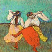 Russian Dancers Art Print