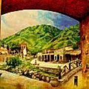 Saidpur Village Art Print