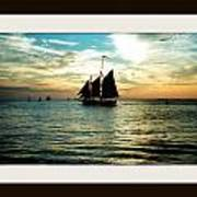 Sailboat Art Print by Bruce Kessler