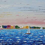 Sailing Takes Me Away Art Print