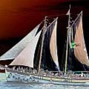 Sailing In Hope Art Print