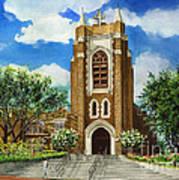 Saint Andrews Episcopal Church Bryan Texas Art Print