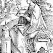 Saint Barbara (c200 Art Print