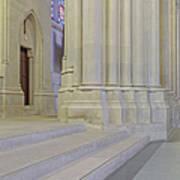 Saint John The Divine Cathedral Columns Art Print