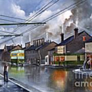 Salop Street Dudley C 1950 Art Print