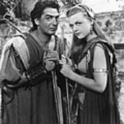 Samson And Delilah, From Left Victor Art Print