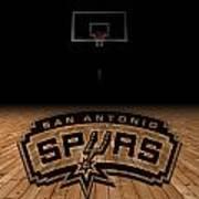 San Antonio Spurs Art Print by Joe Hamilton