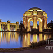 San Francisco Palace Of Fine Arts Theatre Art Print