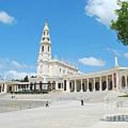 Sanctuary Of Fatima Art Print