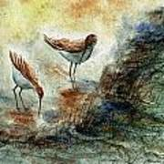 Sand Pipers Art Print