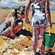 Sandcastles II Art Print