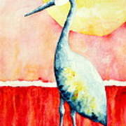 Sandhill Crane II Art Print