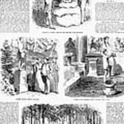 Saratoga Springs, 1859 Art Print