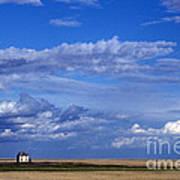 Saskatchewan Farmland Art Print by Mark Newman