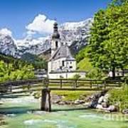 Scenic Bavaria Art Print