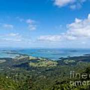 Scenic Coromandel Peninsula Nz Coastline Seascape Art Print