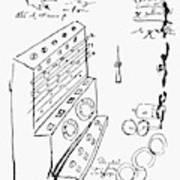 Schickard Calculator Art Print