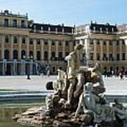 Schoenbrunn Palace In Vienna - Austria Art Print